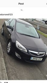 Vauxhall Astra se 2010