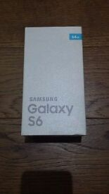 Samsung Galaxy S6 32gb BRAND NEW/SEALED Blue Topaz