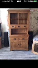 Oak furniture land welsh dresser