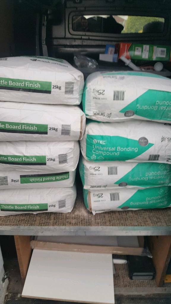 plaster and bonding compound