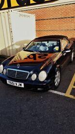 Mercedes CLK 3.2 Convertible PETROL