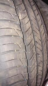 4 pneus d'été 205/55/16 Hankook Kinergy GT, 30% d'usure, 6-8/32 de mesure