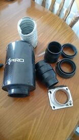 Air filter induction Apiro and Air filter induction pipe kit new