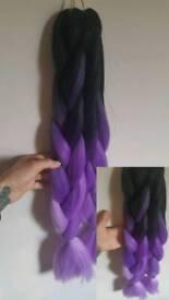 Kanekalons Jumbo Braid False Hair Extension