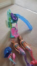 Barbie mermaid bath set