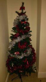 Plastic x mas tree