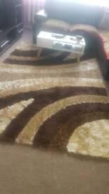 Rug brown