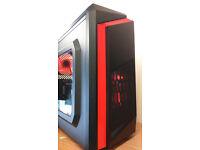 GAMING PC - GO RED (base) - Windows 10 PRO, INTEL i3-4170 3.70GHz, 4GB RAM, 400GB HDD