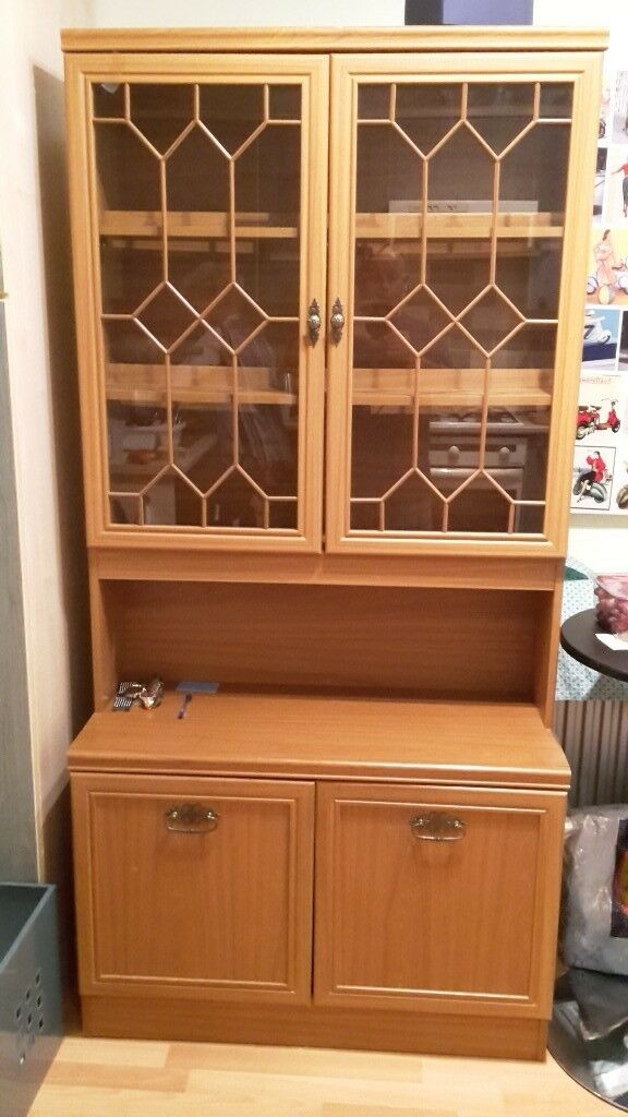 Dining room unit with display cabinet | in Aberdare ...