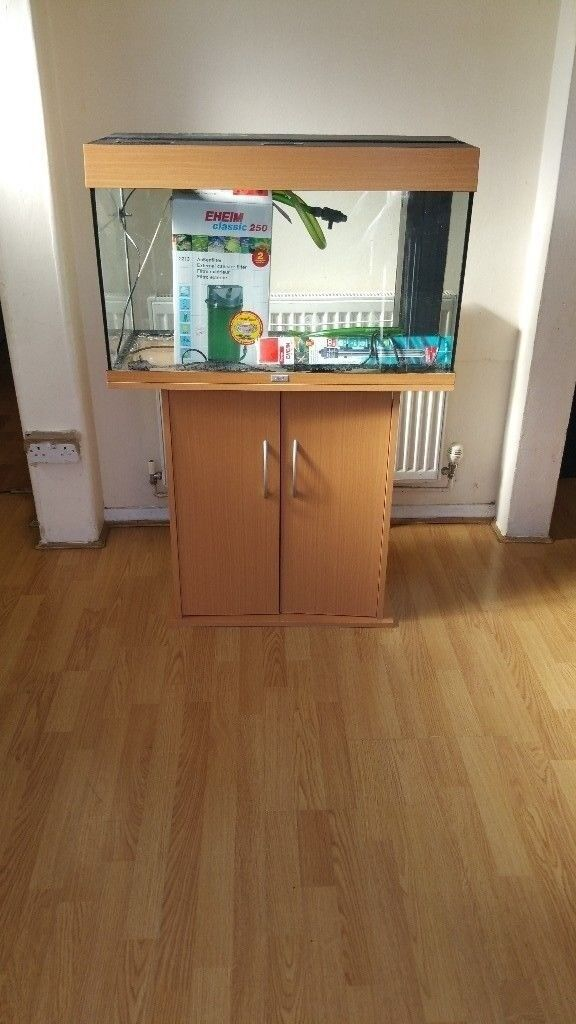 Juwel rio 125 litre fish tank and stand with external filter