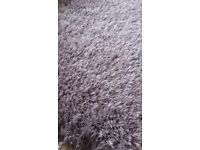 Lovely mauve/pale lavender coloured rug from Next.