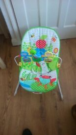 1 or two Fisher Price baby bouncers in brilliant condition - almost brand new