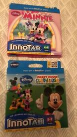 Vtech Innotab Games Minnie & Mickey Mouse Clubhouse