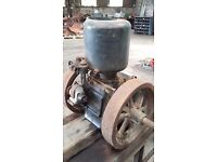 Vintage lister A type static engine
