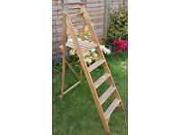 Wooden Step Ladder - functional / upcycling potential