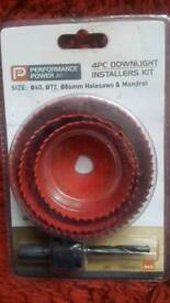 4-piece downlight installers kit