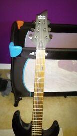 Schecter Damien six electric guitar
