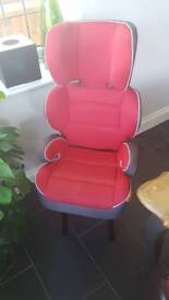 Halfords car seat barely used