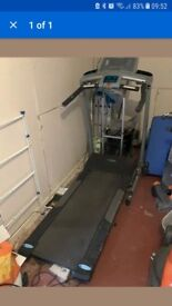 York electric treadmill - used.