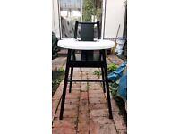 IKEA high chair 'BLAMES' (Black)