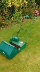 Cylinder lawn mower Qualcast punch classic 35s electric lawnmower
