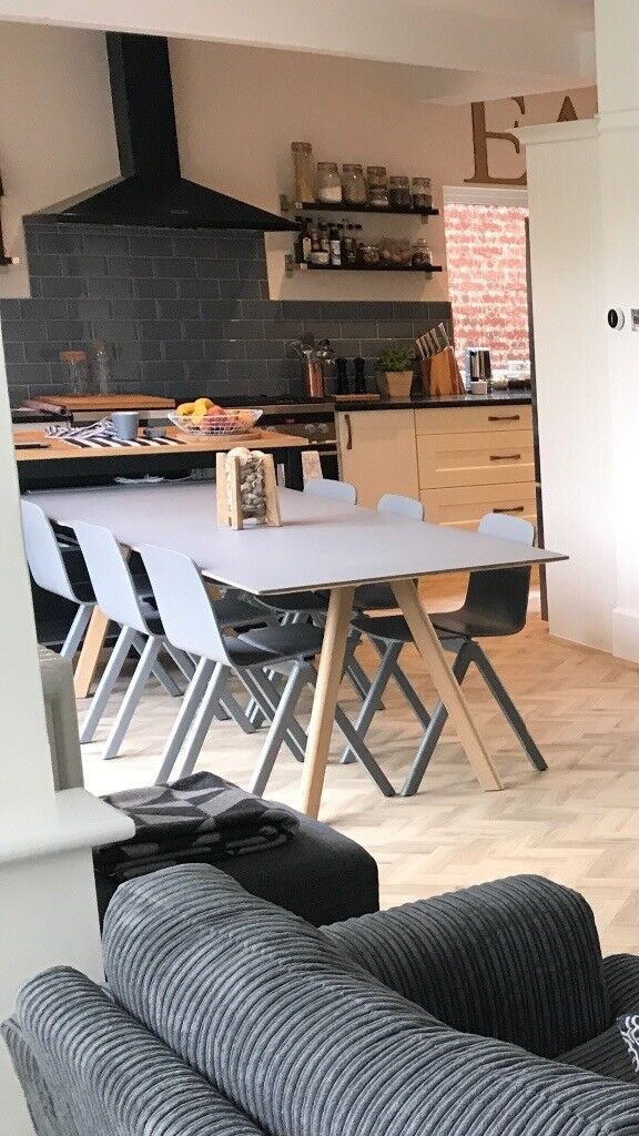 Hay Dining Table And 6 Chairs