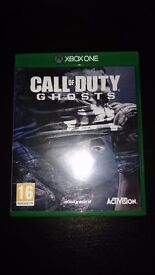 Call of duty ghost for xbox one