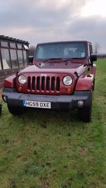 Jeep Wrangler 2.8 CDR Auto Sahara