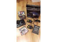 Sega Mega Drive , 10 games & 3 controllers