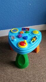 baby play table like new can deliver for a small charge