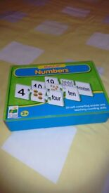 THE LEARNING JOURNEY – MATCH IT! – NUMBERS