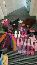 Massive bundle of dress up clothes and accessories
