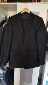 Never worn B&W Black Suit