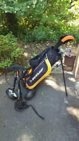 Junior Set of Golf Clubs - Dunlop (8-12 Yrs)