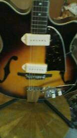 Guyatone SG12 arch top guitar