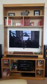 Versatile TV and sound system unit