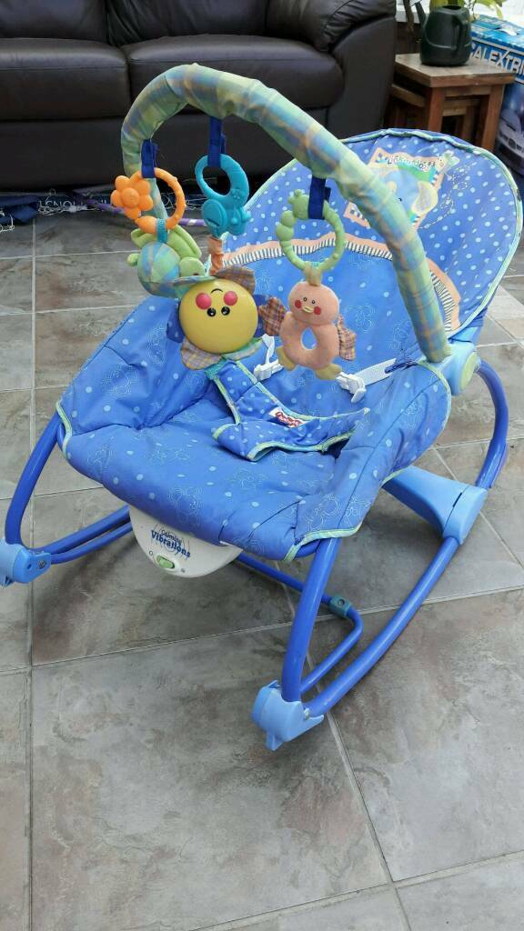 Fisher Price calming vibrations infant to toddler rocker