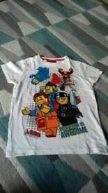 Age 8 lego t-shirt