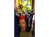 Golf Clubs - Full Sets (Job Lot) - Seve Ballasteros