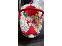 Red kite baby bouncer for sale