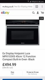 Hotpoint inbuilt electric Oven(Brand New)