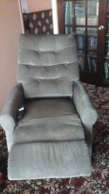 Electric riser reclining chair