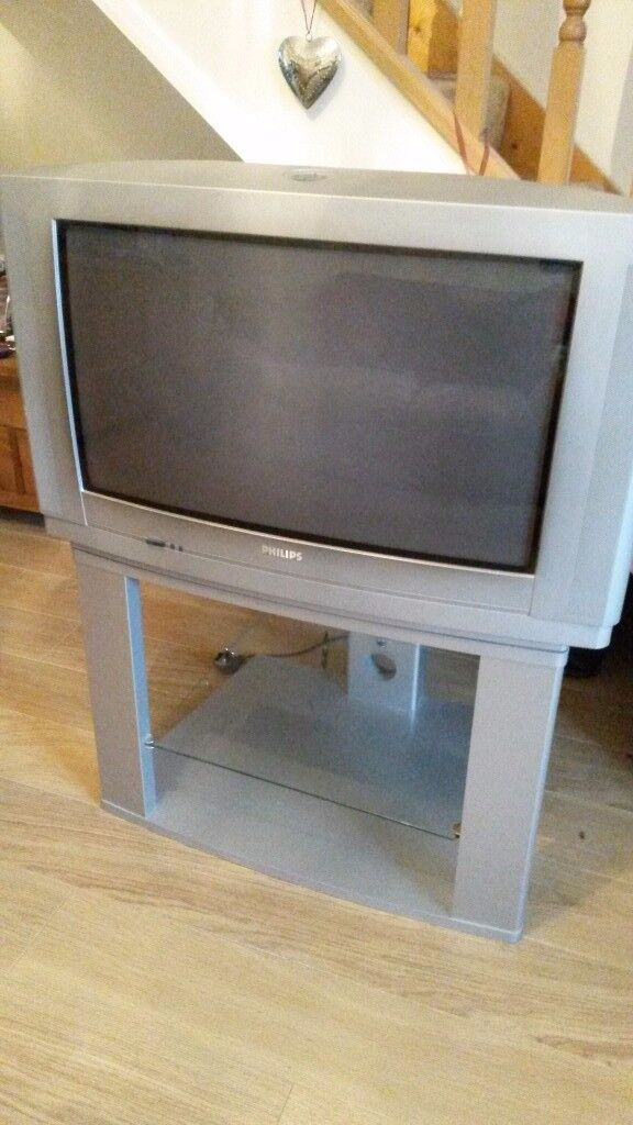 "26"" Philips TV & Original Stand"