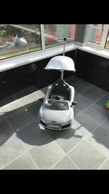 Audi push buggy with canopy