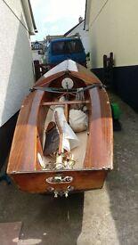 Classic Scorpion sailing dinghy