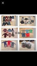 BABY BOY BUNDLE 6-9