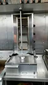 Donna kebab machine catering 4 burner