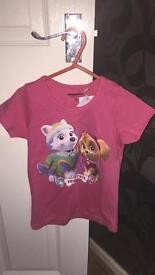 Paw Patrol t-shirt brand new with tags