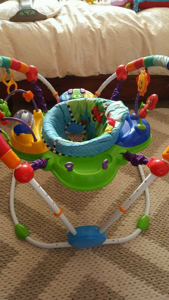 Baby Einstein jumparoo, baby swing and play gym ring