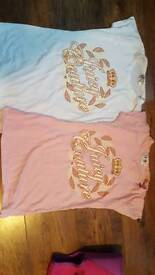 2x juicy couture tops